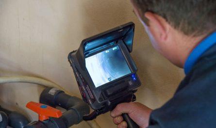 La caméra thermique pour l'inspection des canalisations