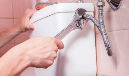 fuite d'eau toilette