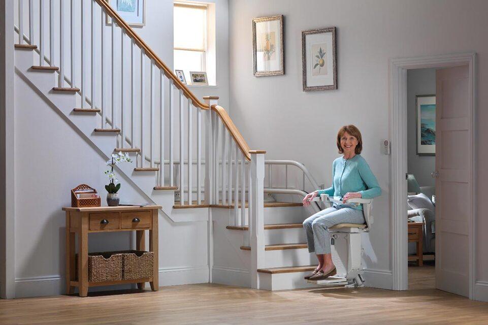 le bon monte-escalier
